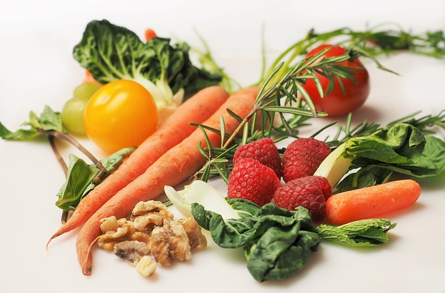 fresh and healthy foods