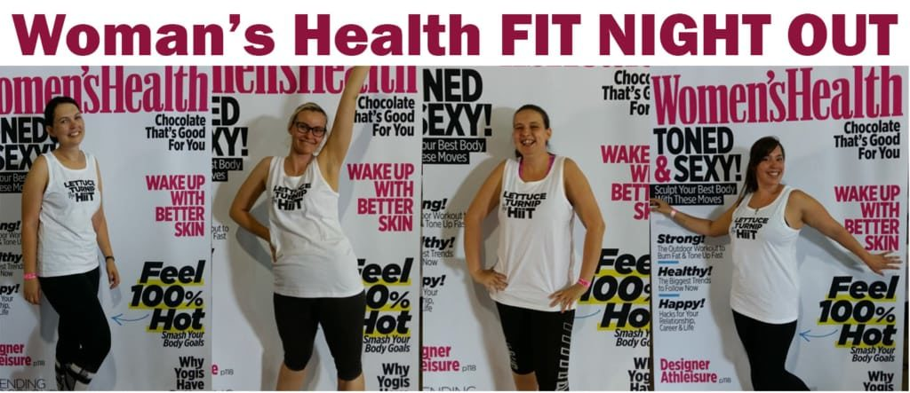 Women's Health Fit Night Out Group
